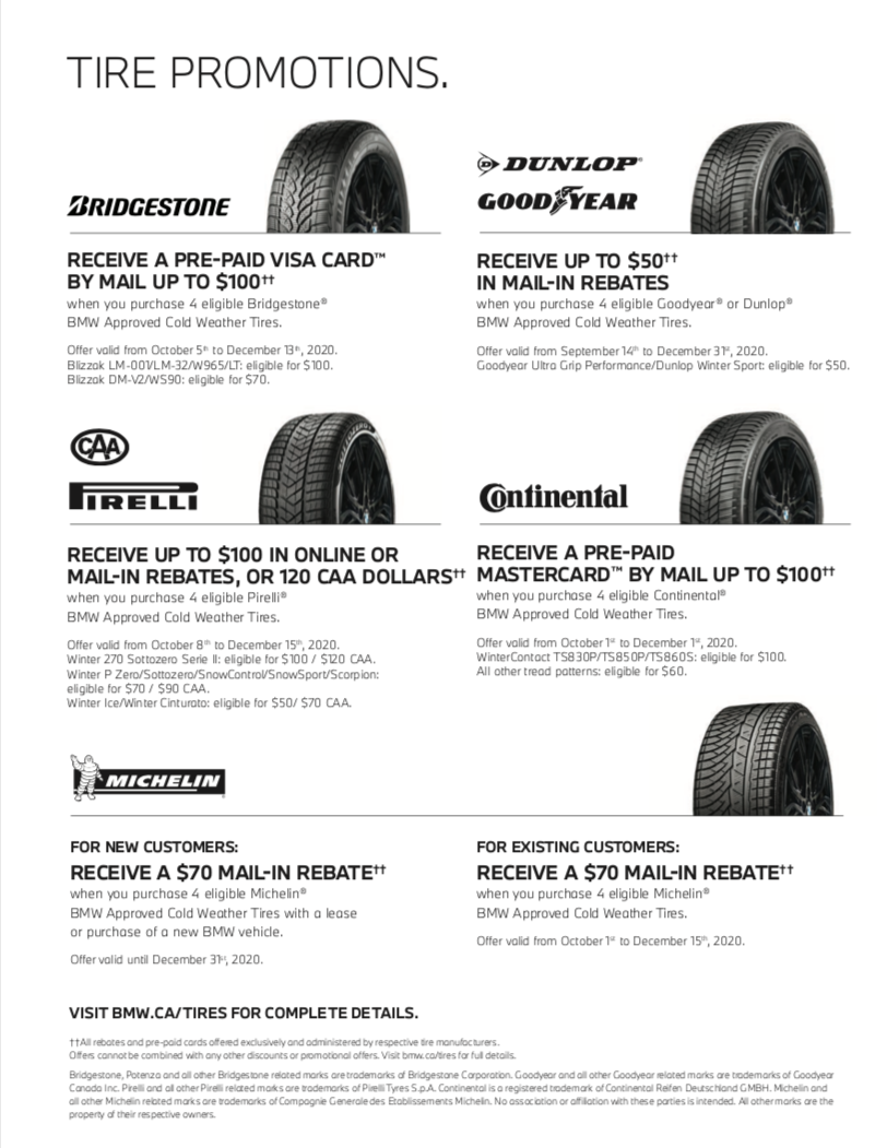 Tire Promotions
