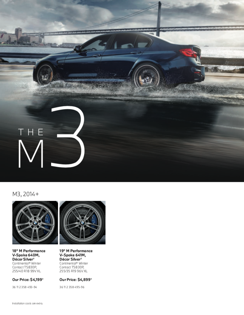 The M3 Tires