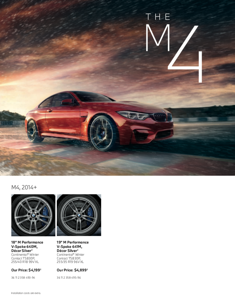 The M4 Tires