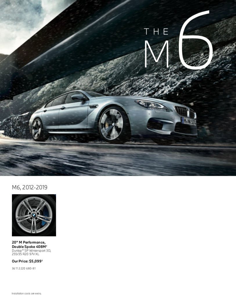The M6 Tires