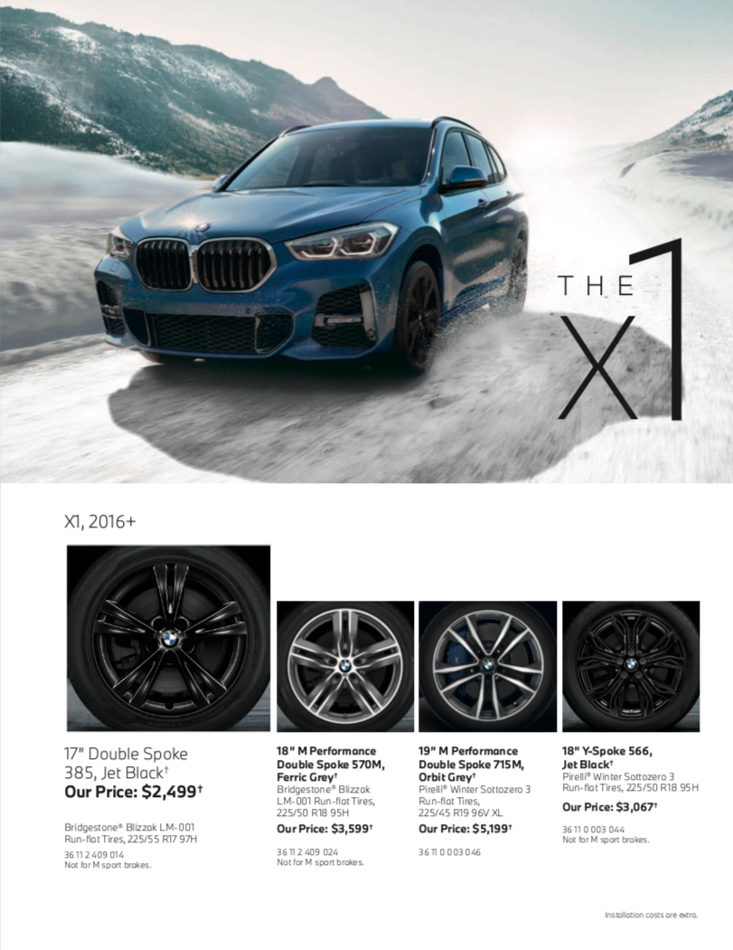The X1 Series