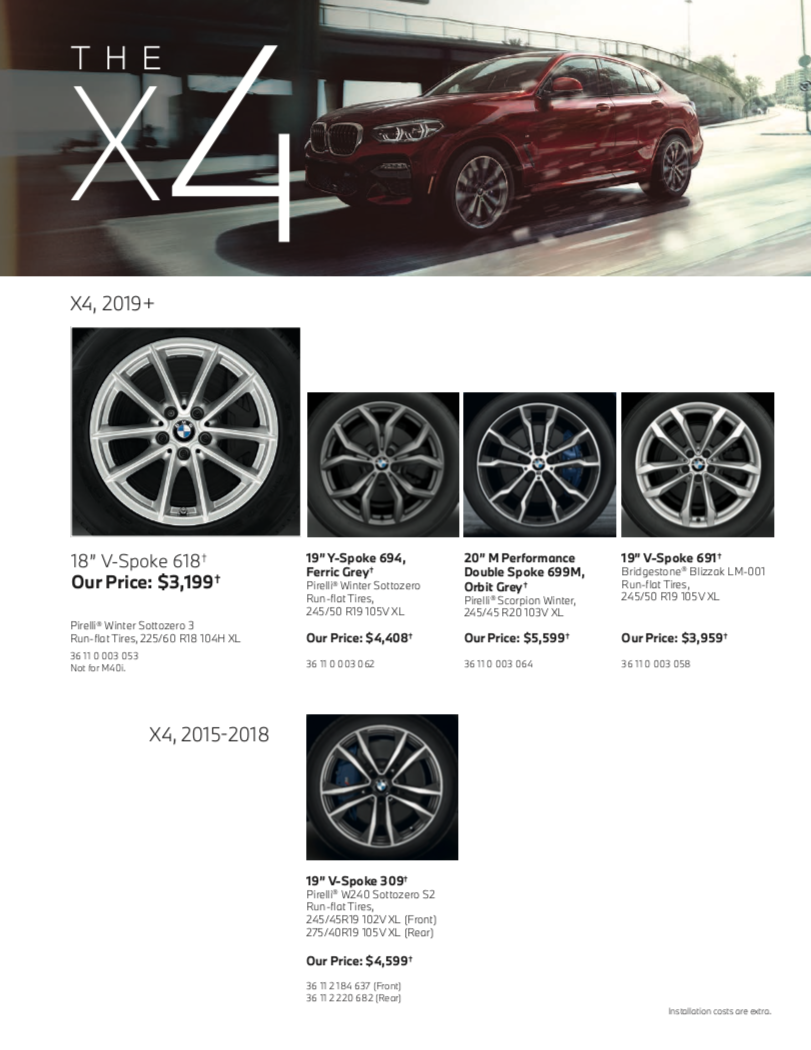 The X4 Series