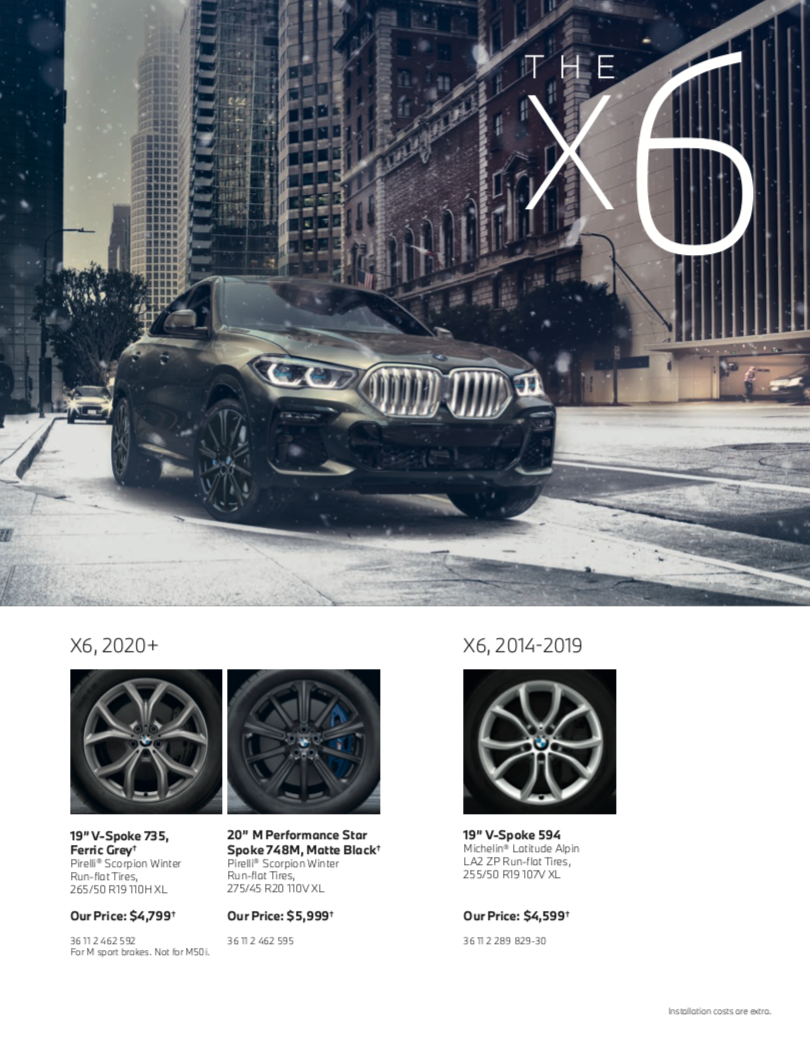 The X6 Series