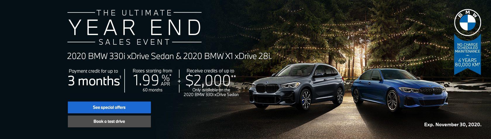 2020 BMW X1 xDrive 28L
