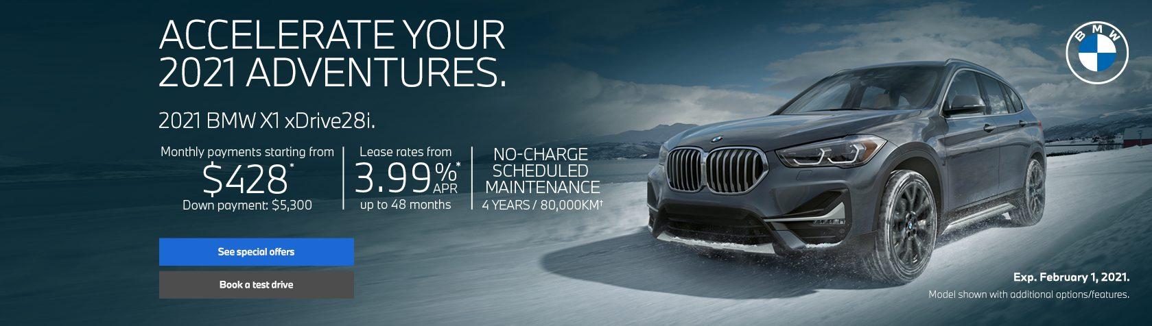BMW X1 Offers